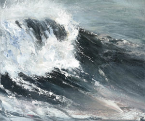 The Storm by Francine Davies Art Acrylic on Canvas Available For Sale at www.francinedavies.art