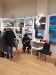 Francine Davies Art, The London Welsh Centre, Contemporary Welsh Art Exhibition