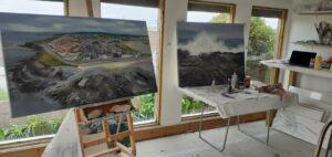 Francine Davies Art Studio.